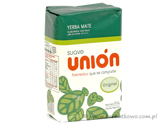 Yerba Mate Union Suave 0,5 kg