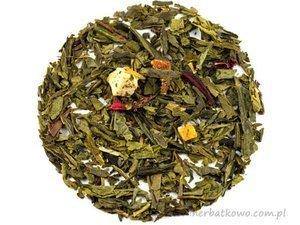 Zielona herbata Sencha Jesienny Wieczór