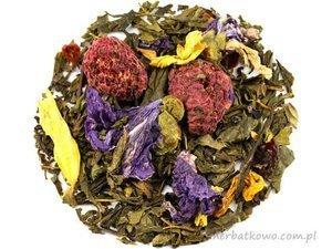 Zielona herbata Sencha Malinowy Król