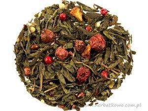 Zielona herbata Sencha Pikantny Romans