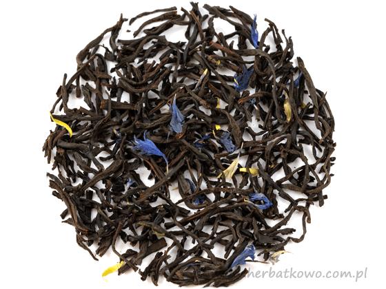 Herbata czarna Earl Grey Bławatek