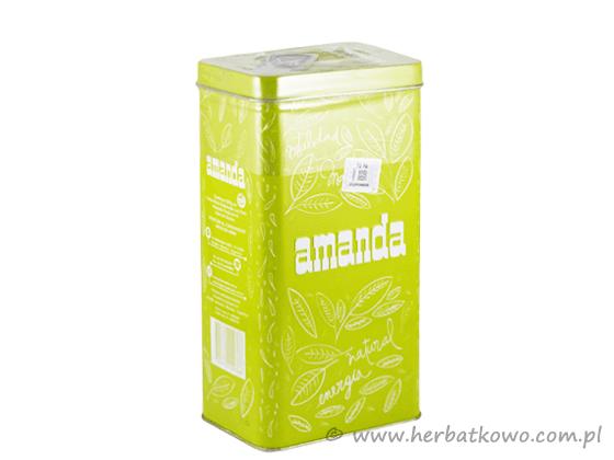Yerba Mate Amanda 0,5 kg w limonkowej puszce