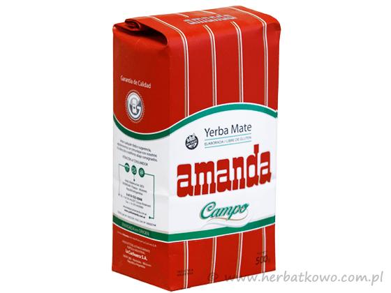 Yerba Mate Amanda Campo 0,5 kg suave