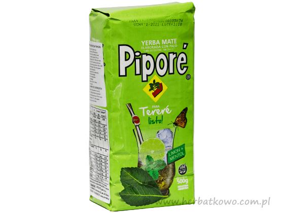 Yerba Mate Pipore Terere Listo! Limon + Mentol 0,5 kg