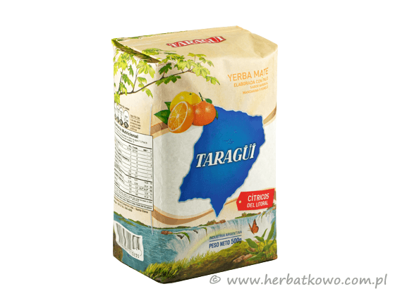 Yerba Mate Taragui Citricos del Litoral 0,5 kg