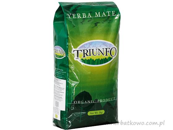 Yerba Mate Triunfo Zielona 1 kg grubo cięta Organic
