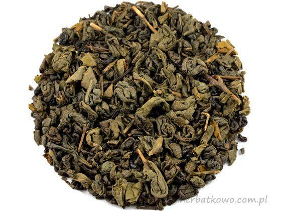 Zielona herbata China Gunpowder Special Organic