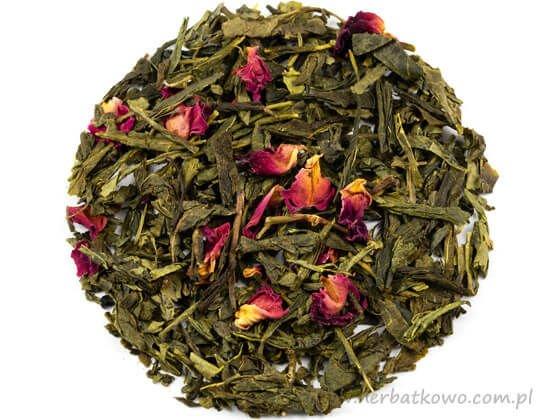 Zielona herbata Sencha Sakura